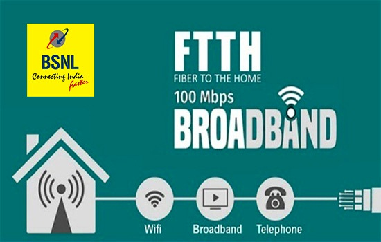 BSNL to waive off FTTH modem rental charges for fiber broadband customers in Kerala Circle