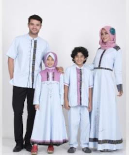 98 Model Baju Lebaran 2018 Terbaru Untuk Remaja, Keluarga Dan Anak Couple