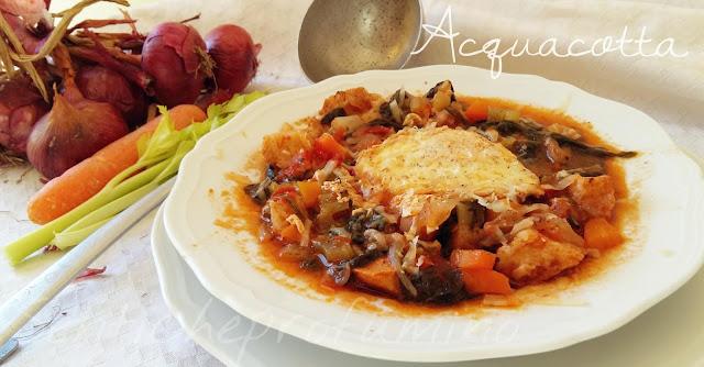 ricetta toscana, cucina italiana, vedure, uova formaggio, zuppa toscana, piatto unico
