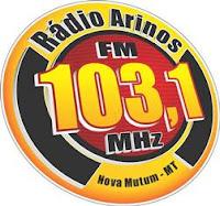 Rádio Arinos FM de Nova Mutum MT ao vivo