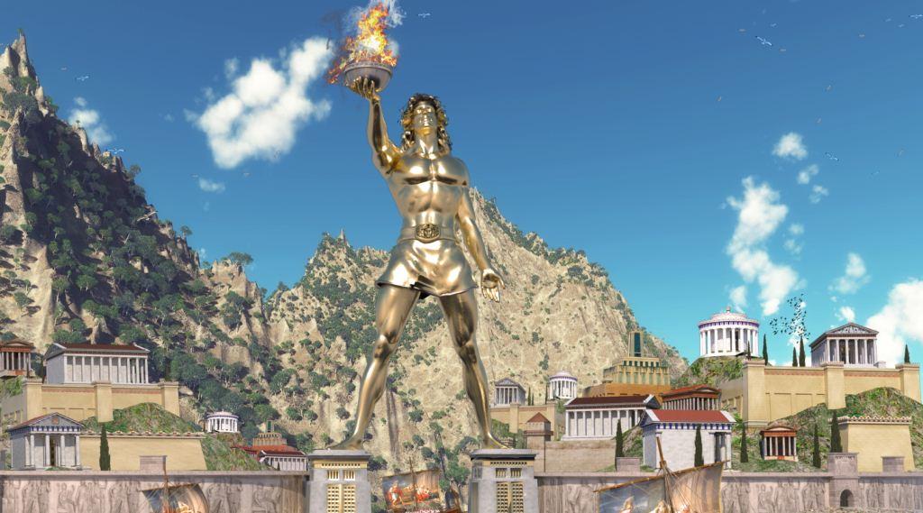 Colossus Adalah patung perunggu dewa Matahari dari Rhodes