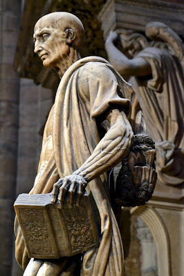 St Bartholomew Flayed: Milan Cathedral by The Art of Creativity Studio