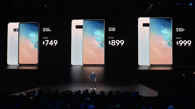 Samsung Galaxy S10 variants