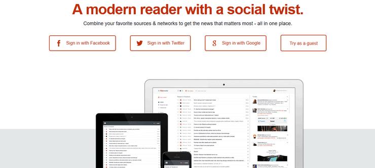 FlowReader content reader