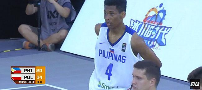 Philippines def. Poland, 20-14 (REPLAY VIDEO) FIBA 3x3 U18 World Cup 2017