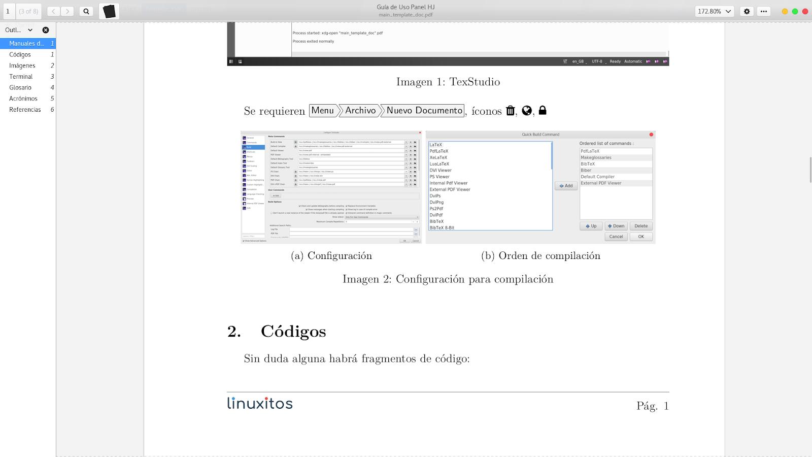 Plantilla LaTeX para Manuales
