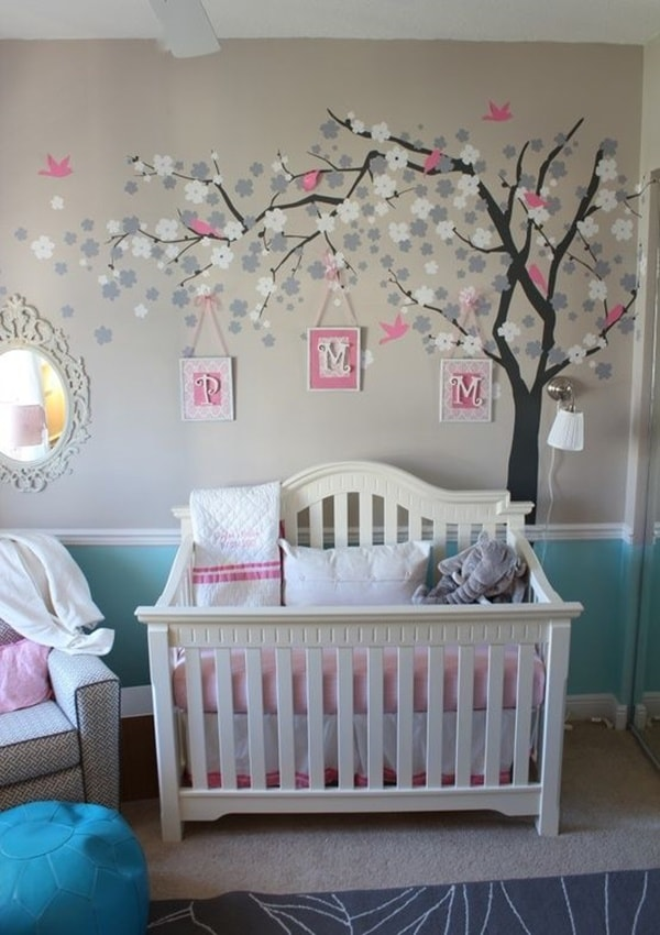 Essential Decorations For Bedrooms of Newborn Babies 4