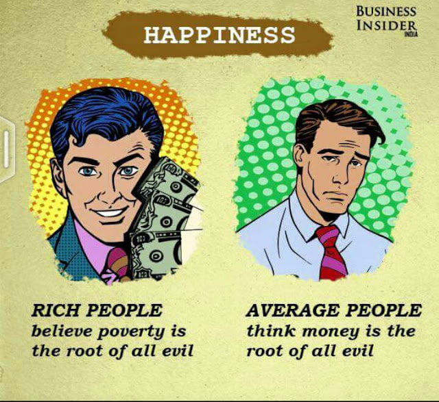 21 wway rich people think differently 21 ways rich people think differently 1 average people think money is the root of all evil rich people believe poverty is the root of all evil.