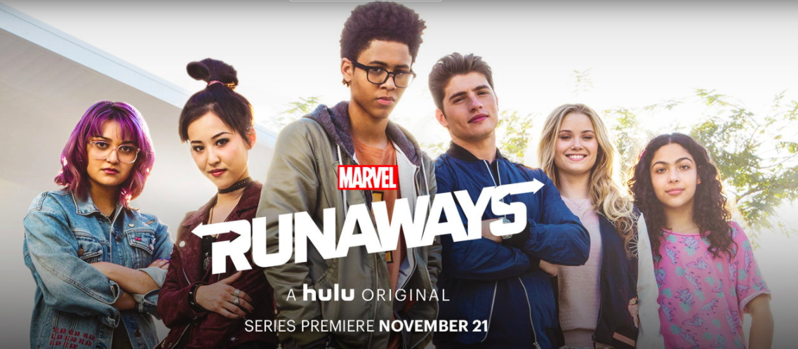 Hulu Original Marvels Runaways airs November 21