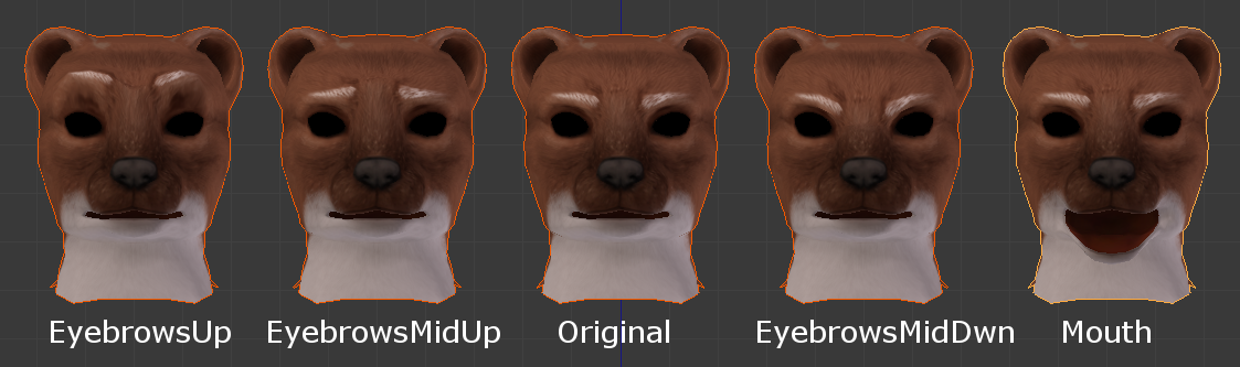 Dynamically changing facial normal maps in Unreal Engine 4
