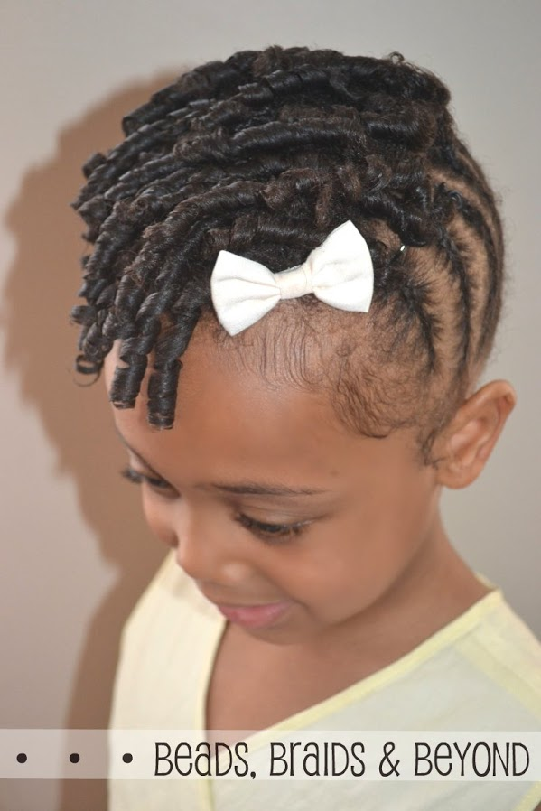 Beads Braids And Beyond Little Girls Natural Hairstyle