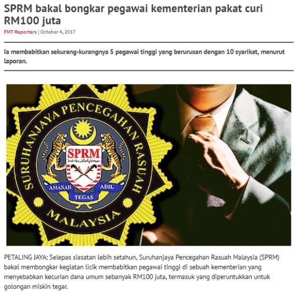 Yusuf Azmi Dedahkan Ada Cubaan Menjatuhkan Ketua Pengarah SPRM