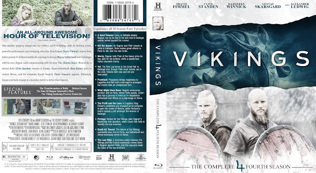 Capa Bluray Vikings Quarta Temporada Completa