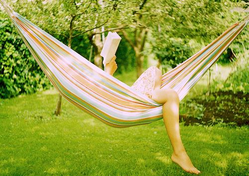 Lendo livro na rede