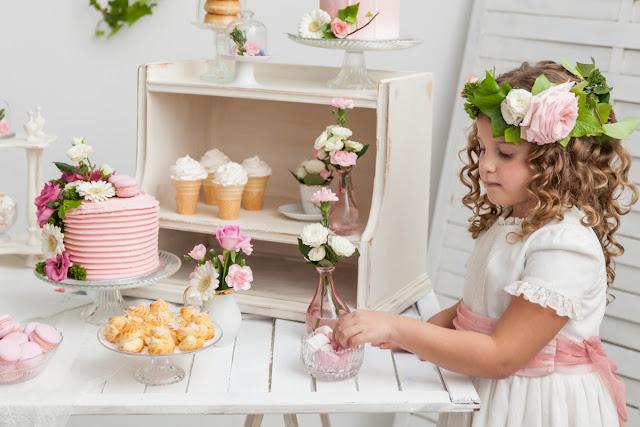 mesa dulce primera comunion - la comunion de noa magazine