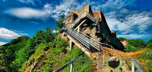 Poenari Castle,Romania