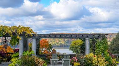 Wave Hill, jardín público y centro cultural en el Bronx de Nueva York