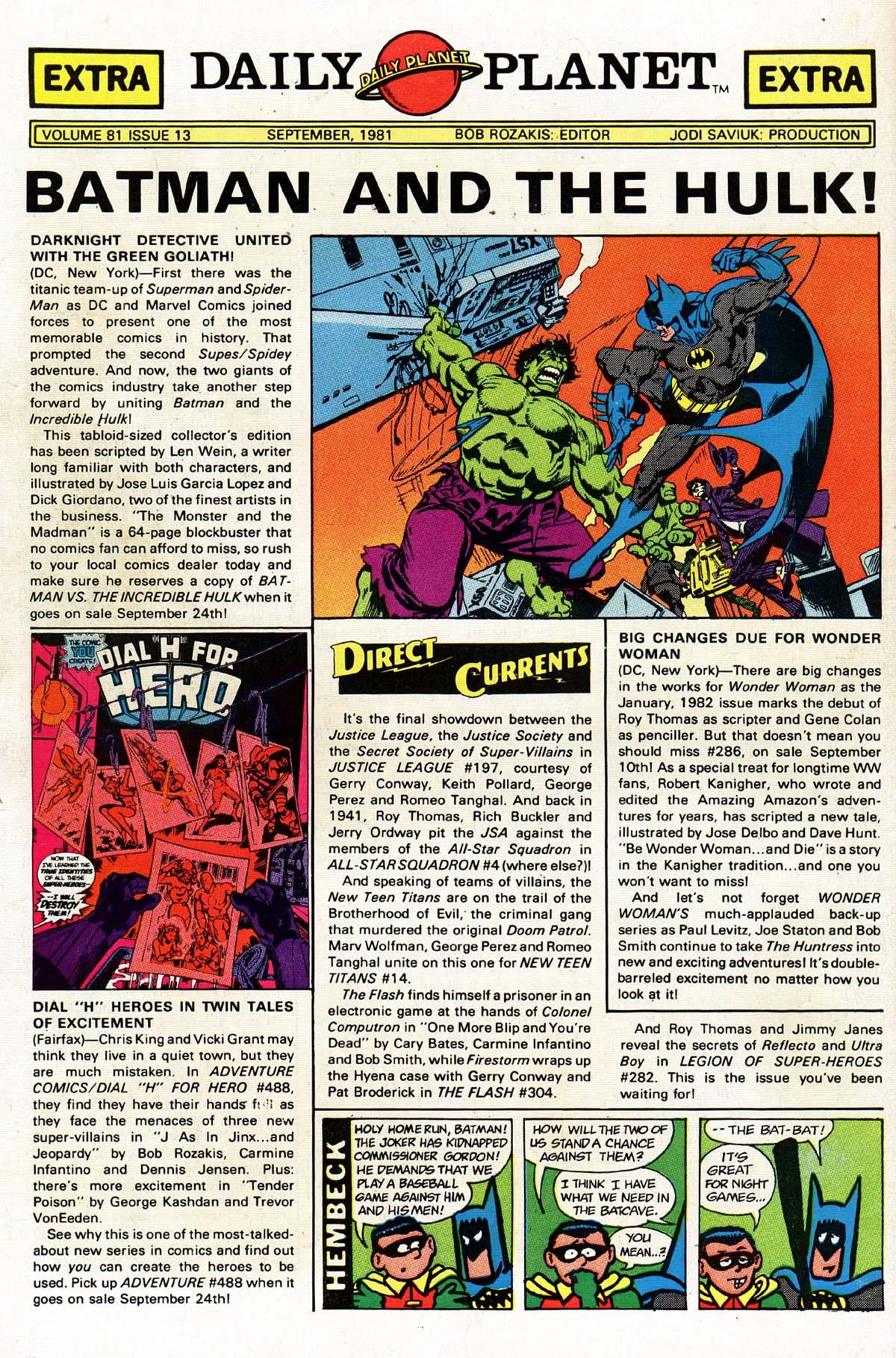Read online World's Finest Comics comic -  Issue #274 - 52