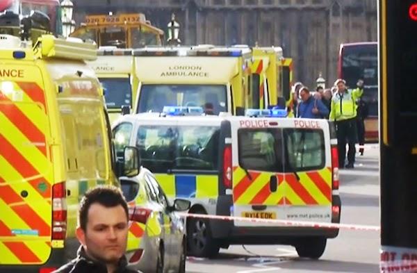 Atentado  puertas Parlamento británico, Londres