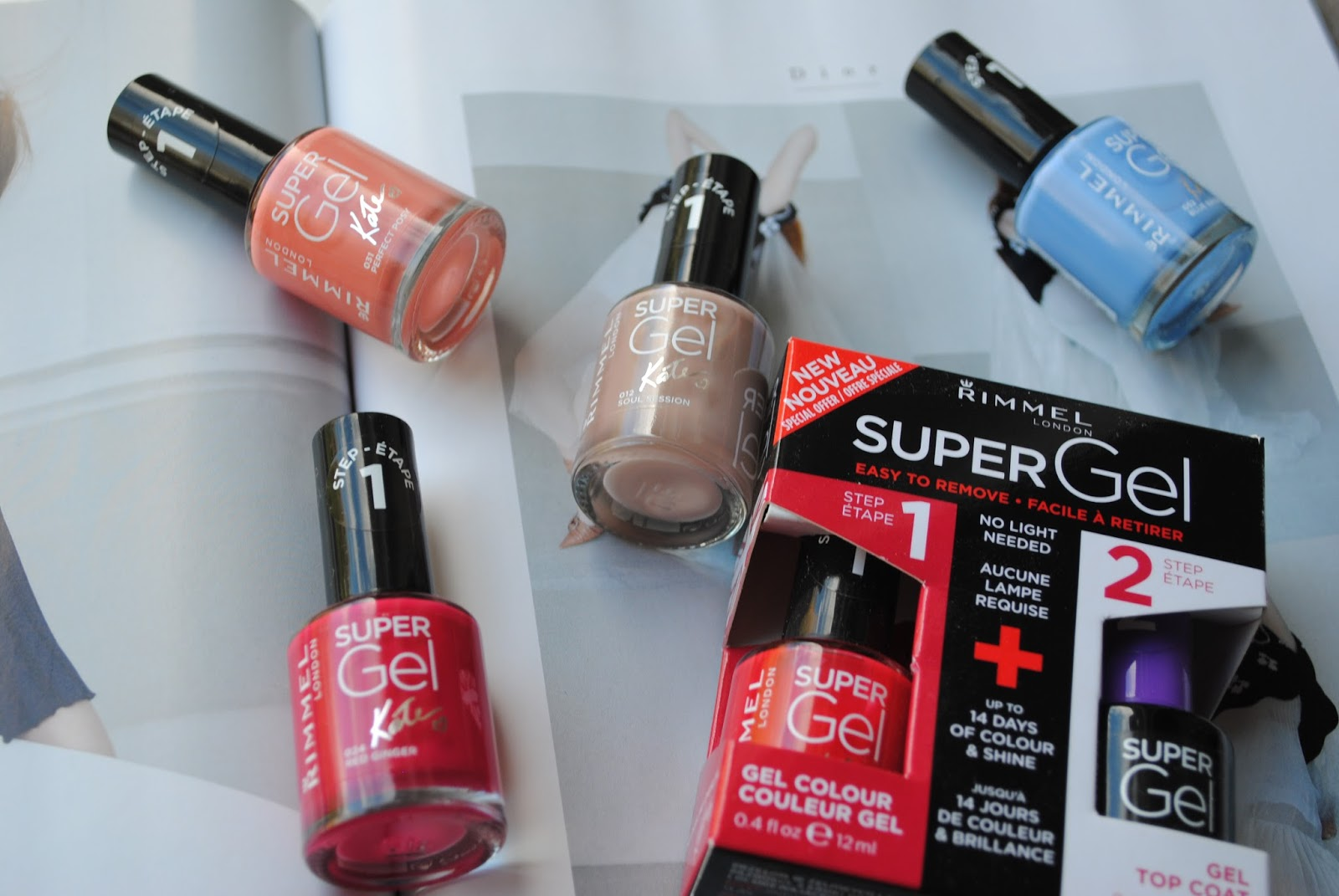 Product Review // Rimmel Super Gel Nail Polish | Fashion and All That