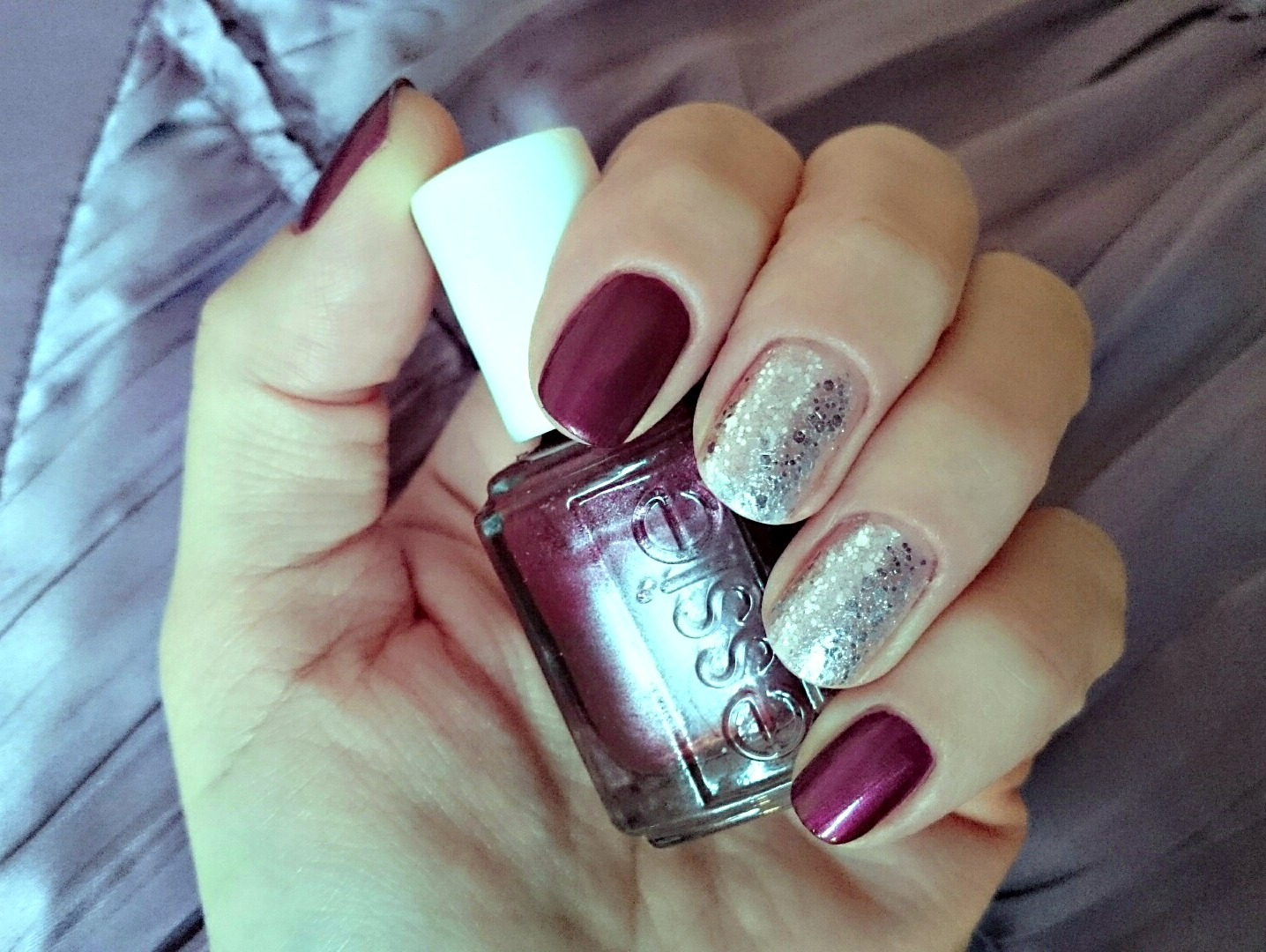 Essie Sssexy with Ciate Locket