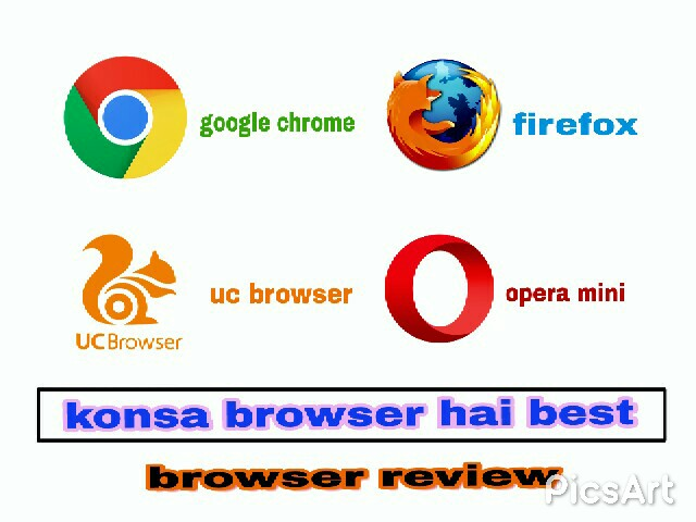 Google Chrome Firefox Opera Uc Konsa Browser Hain Best | Review FAST LODING 2G 3G 4G MOBILE BROWSER