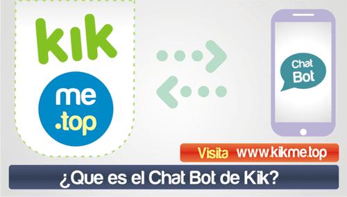 Que es el Chat Bot de Kik