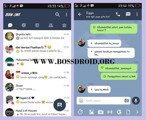 BBM Mod Line v3.2.0.6 APK Android Terbaru