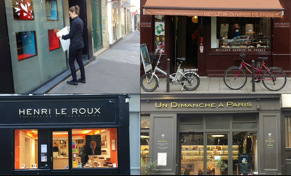 Map Of Paris France 6th Arrondissement.Paris Breakfasts February 6eme Paris Chocolate Map A Twofer