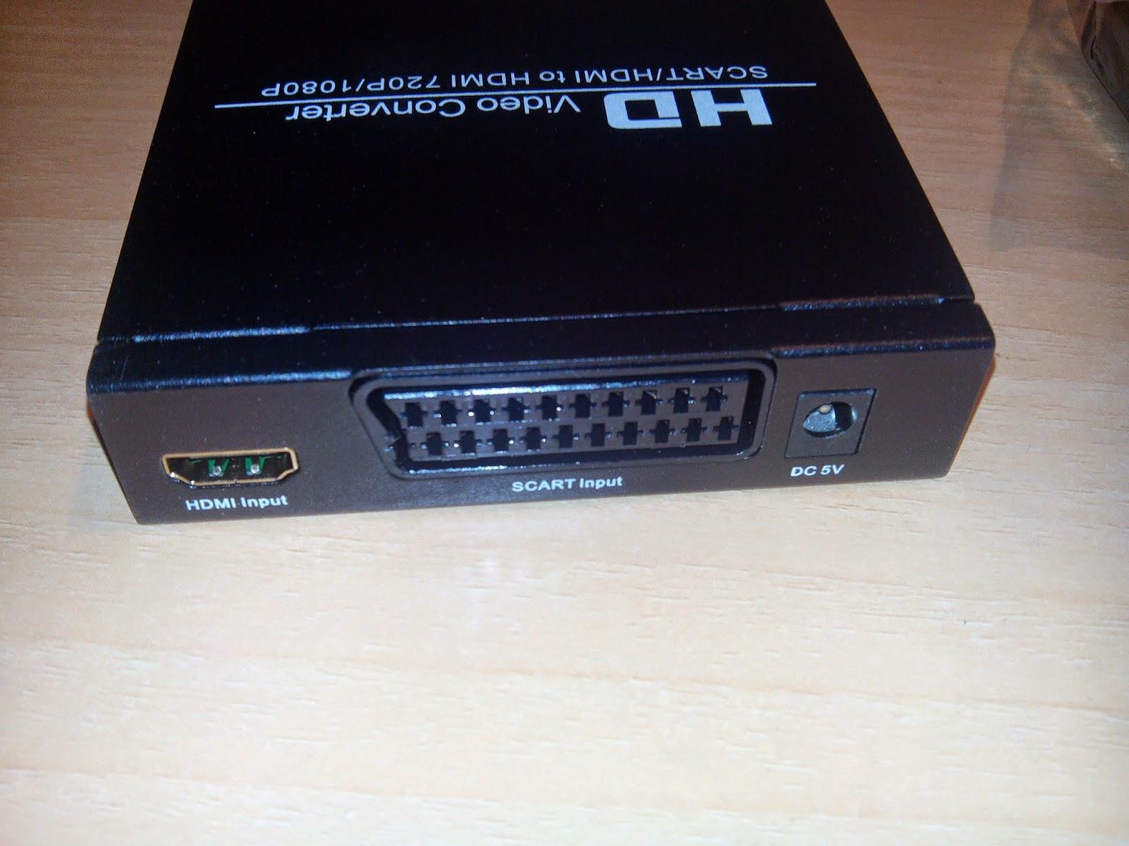 convertor video hdmi a euroconector scart