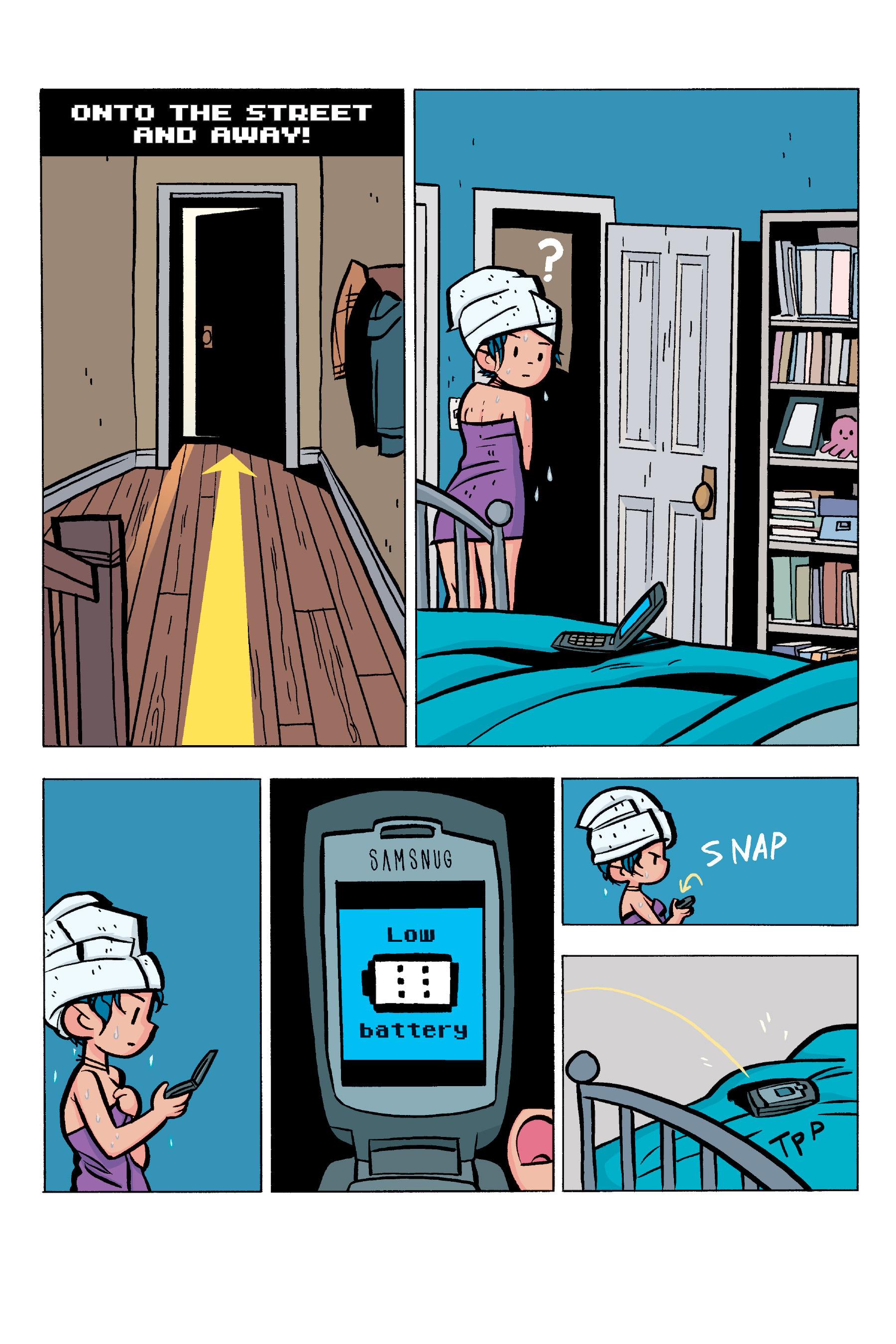 Read online Scott Pilgrim comic -  Issue #5 - 114