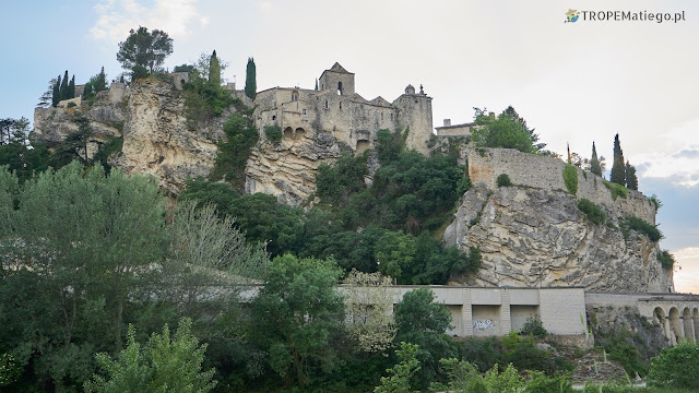 Miedieval city in Vaison-la-Romaine