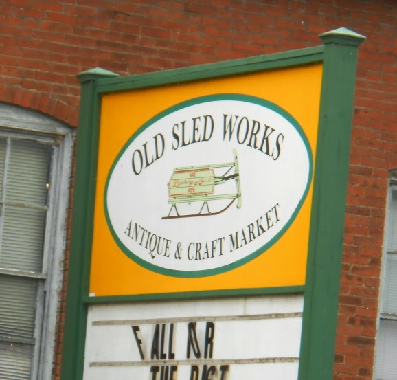 The Old Sled Works Antique and Craft Market - Duncannon Pennsylvania
