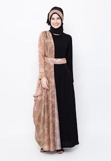 Busana batik muslim modern modis trendy