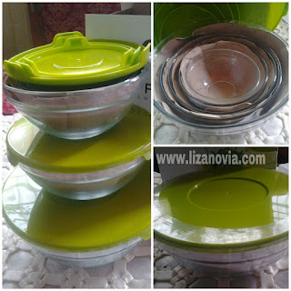 Oriflame Delux Glass Bowl Set