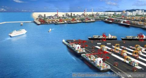 Phối cảnh Khu bến cảng Mỹ Thủy – Hải Lăng – Quảng Trị