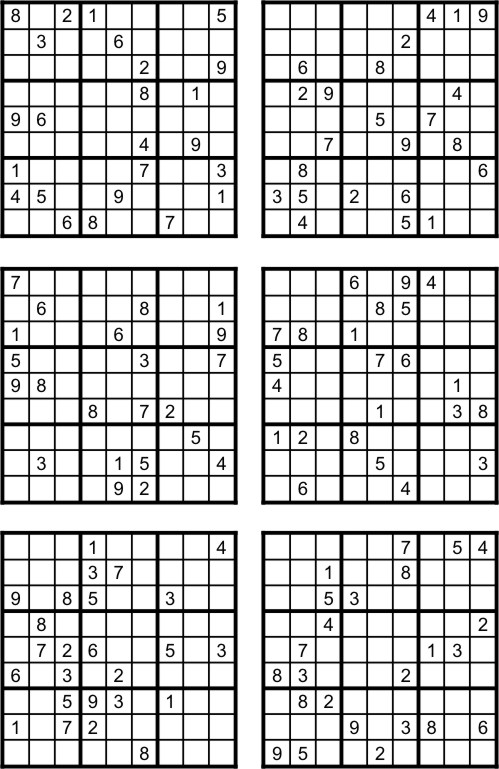 Sudoku Online Gratis Para Imprimir