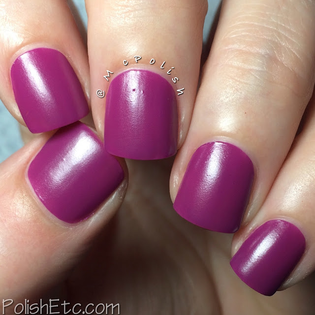 SinfulColors - A Class Act, Chalkboard Diaries - McPolish - Hazed