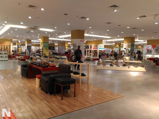 largest bata store in the india viviana mall
