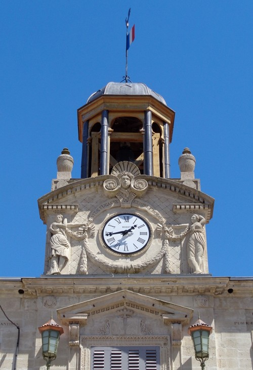 Le Pays Natal De Jlj   L U0026 39 Attique  U00e0 Campanile De La Mairie
