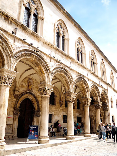 Rector's Palace, Dubrovnik, Croatia