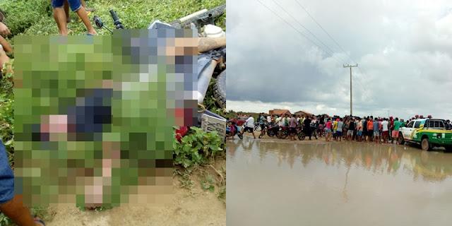 Marcolândia Piauí-População persegue assaltantes após roubarem quatro motos na divisa de Marcolândia com o Pernambuco: Um bandido foi morto