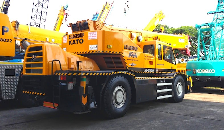 Kato 70t Rough Terrain Crane Load Chart : Kato archives cranepedia