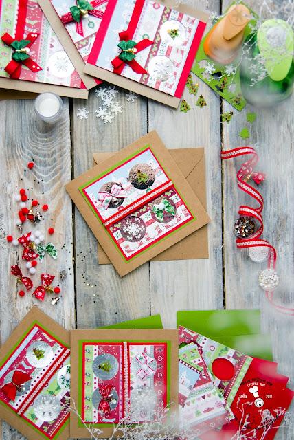 diy na święta jak wykonać kartkę świąteczną w domu tutorial zrób to sam