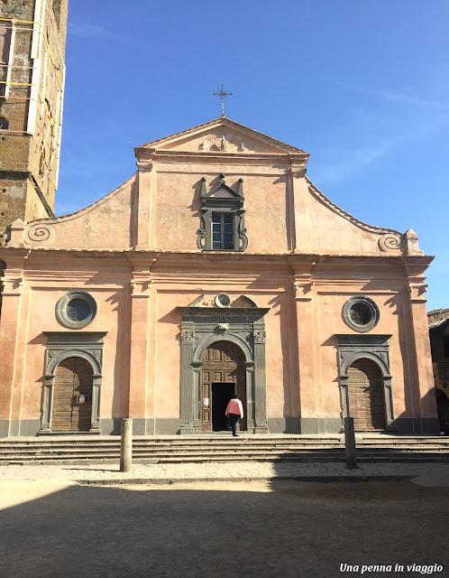 Piazza San Donato  Civita di Bagnoregio