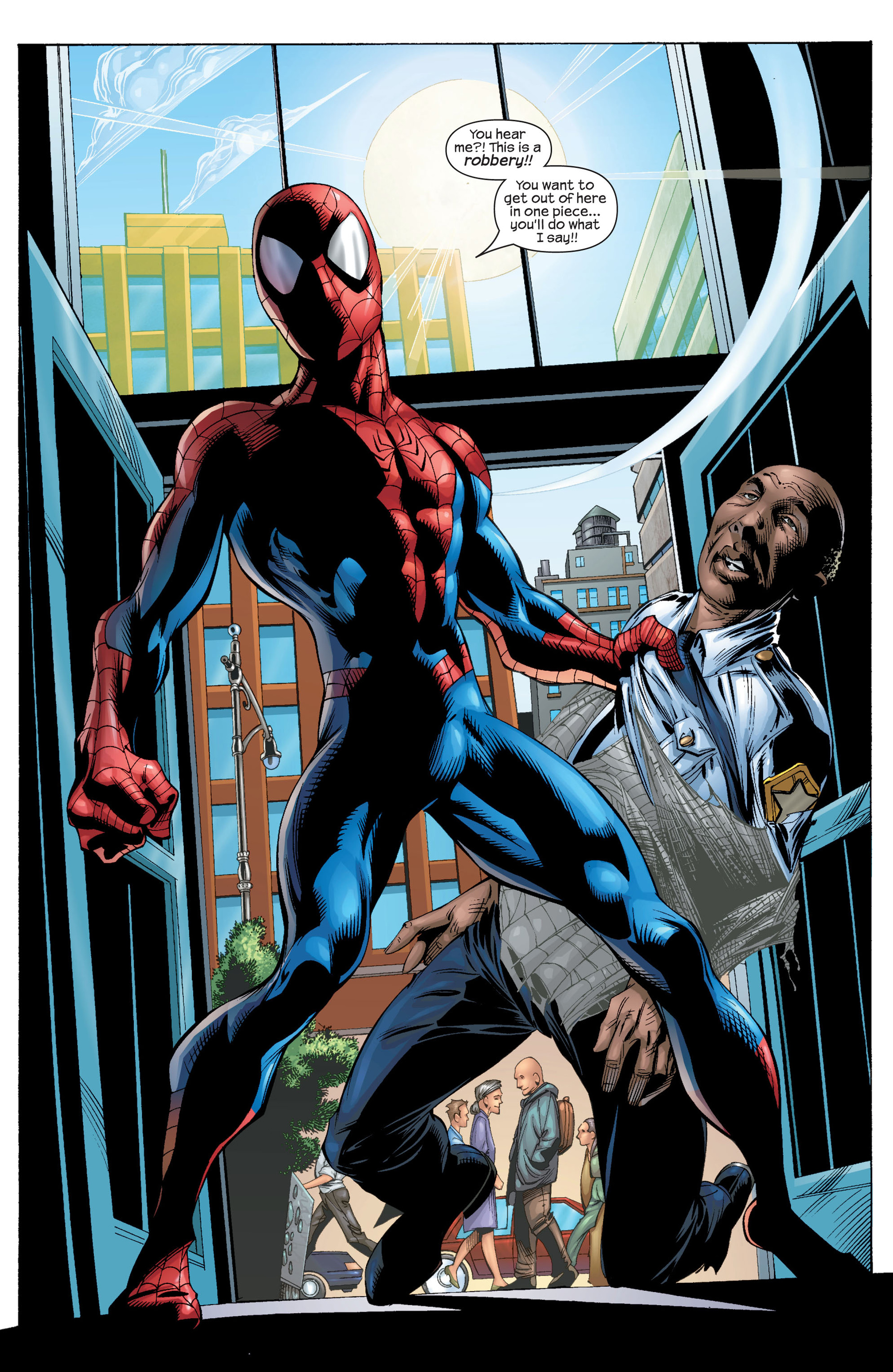 Read online Ultimate Spider-Man (2000) comic -  Issue #29 - 3