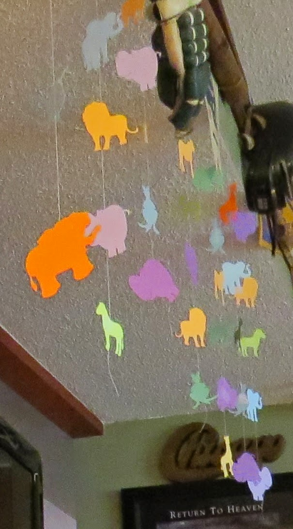 Animals, Streamers, Jungle, Decorations, Party Decor, Silhouette Cameo, Cricut