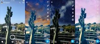 Keren! Snapchat Punya Filter Baru yang Bisa Mengubah Suasana Langit