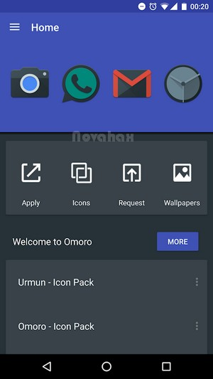 Omoro – Icon Pack full apk