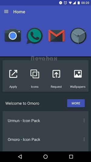 Omoro – Icon Pack full apk